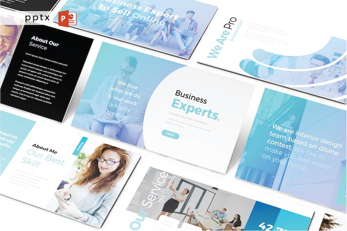 Thumbnail for BUSINESS EXPERTS - Powerpoint V488