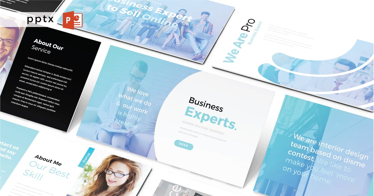 Download BUSINESS EXPERTS - Powerpoint V488 by Shafura