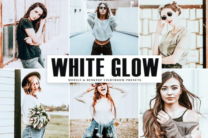 Thumbnail for White Glow Mobile & Desktop Lightroom Presets