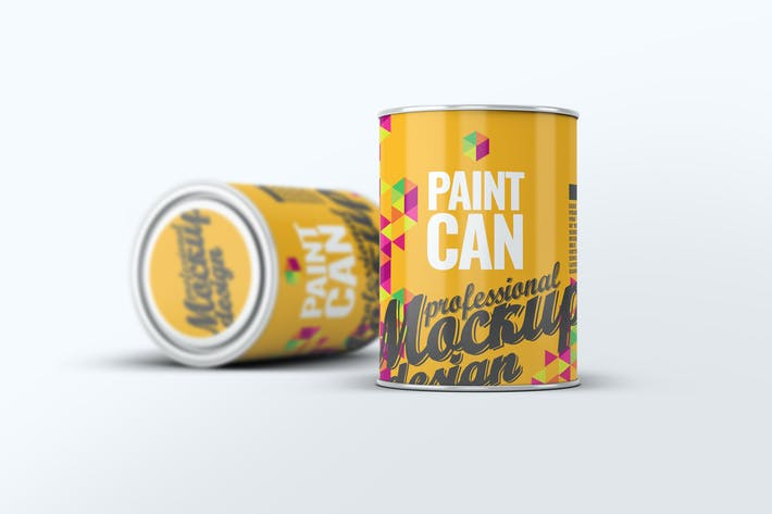 Thumbnail for Paint Can Mock-Up v.1