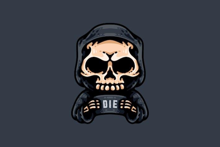 Thumbnail for Grim Reaper Holding Schild