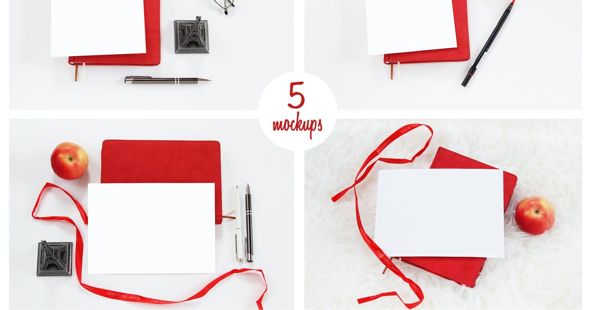 Download 5 photo mockups. Stock Photography by switzergirl