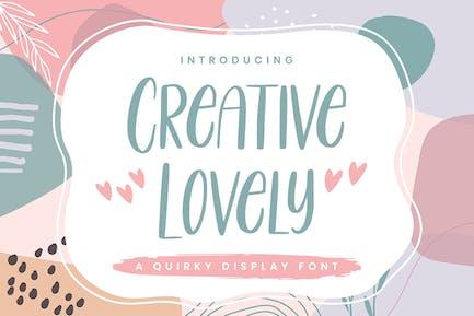 Creative Lovely - Font ludique
