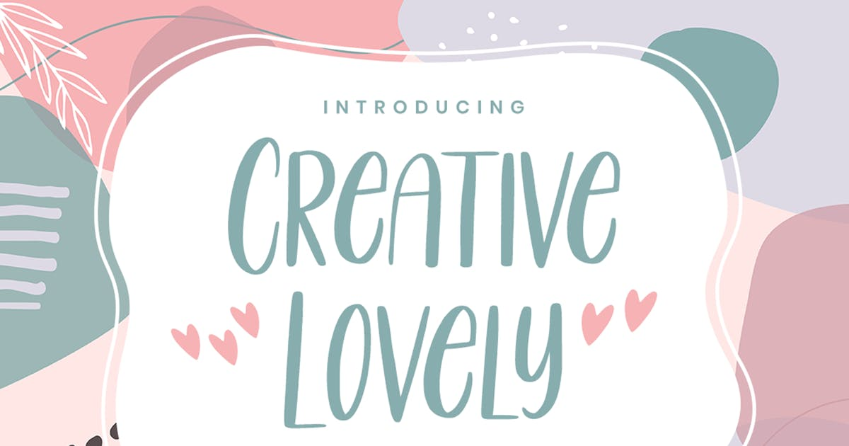 Download Creative Lovely - Playful Font by NissaStudio