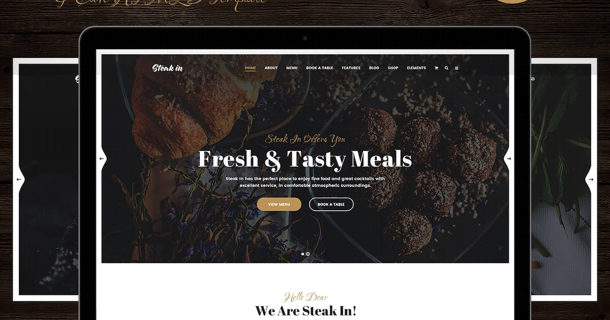 Download Steak In - Restaurant & Cafe HTML5 Template by 7oroof