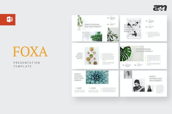 Thumbnail for Foxa - Powerpoint Template