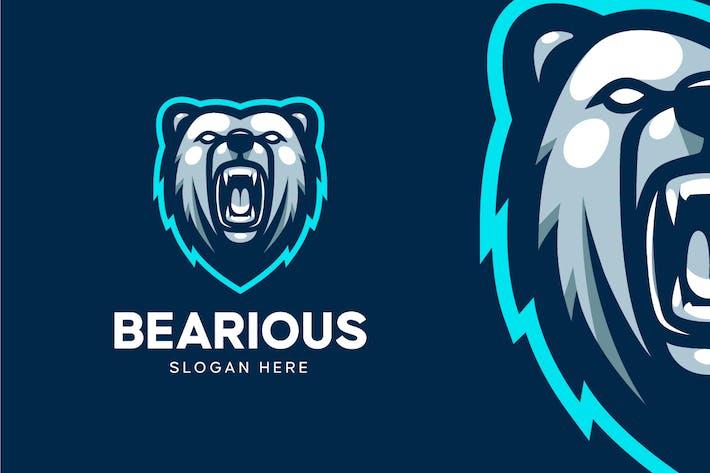 Thumbnail for Angry Bear Logo