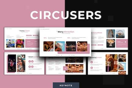 Циркусы - Шаблон Keynote
