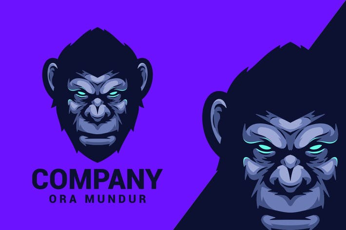 Thumbnail for Ape Logo Mascot