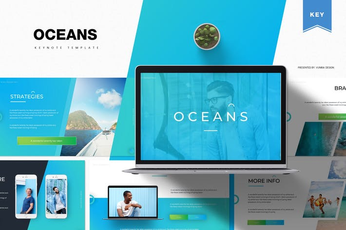 Thumbnail for Oceans | Keynote Template