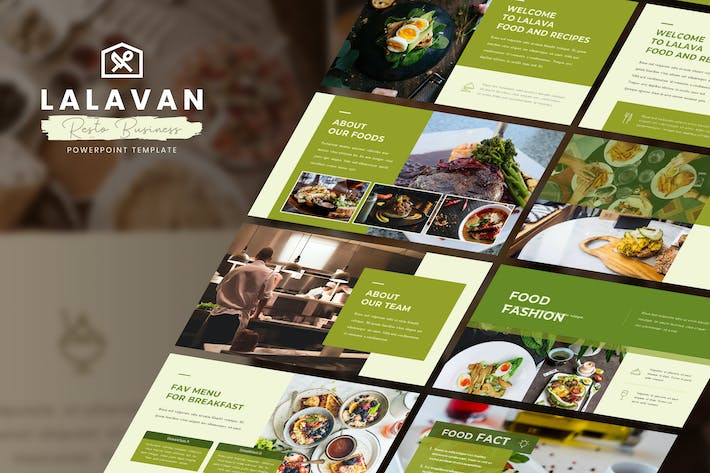 Thumbnail for Lalavan - Food Business Powerpoint