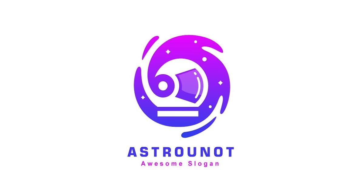 Download Abstract Astronaut  Color Gradient Logo Template by ivan_artnivora
