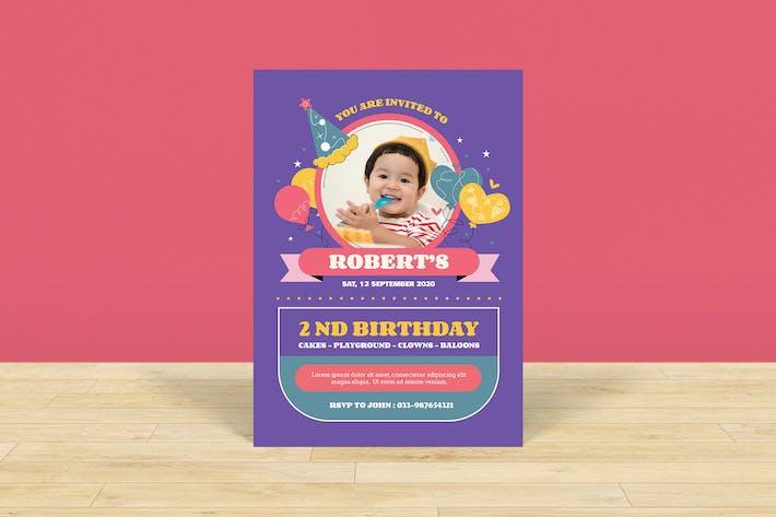 Thumbnail for Invitation Anniversaire Enfants