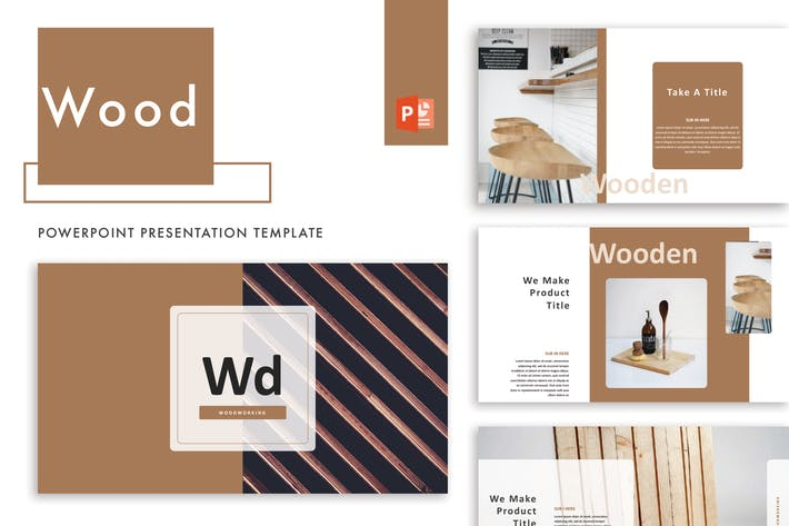 Thumbnail for Wood Powerpoint Template