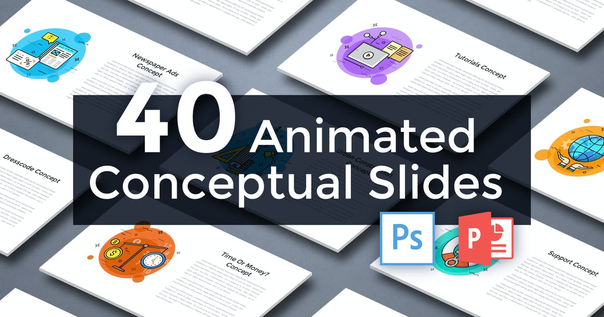 Download 40 Animated Conceptual Slides for Powerpoint p.2 by Andrew_Kras