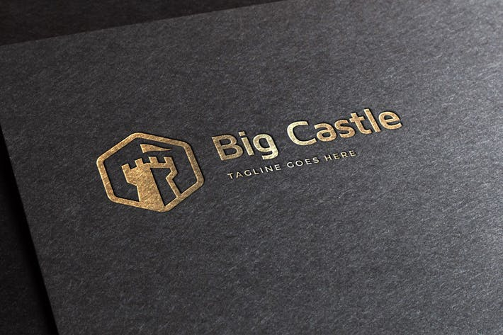 Cover Image For Big Castle Logo Template