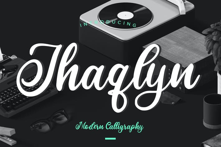 Thumbnail for Jhaqlyn Caligrafía Moderna