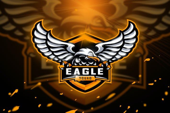 Thumbnail for Eagle Squad - Mascot & Esport logo