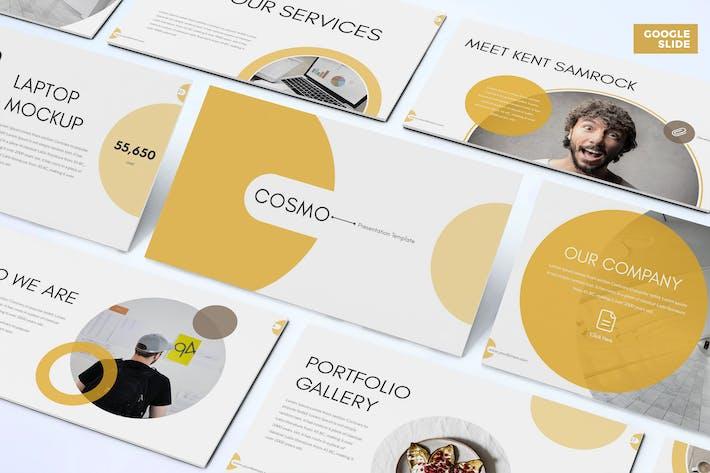 Cover Image For Cosmo - Бизнес Google Слайды Шаблон