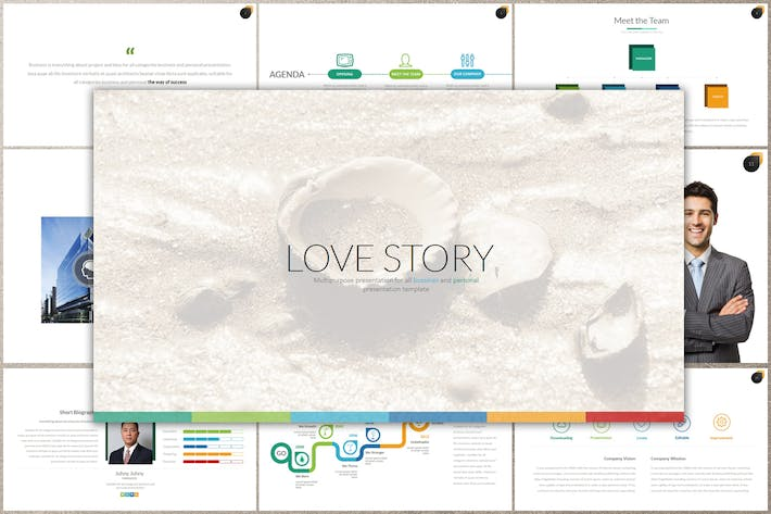 LOVE STORY Google Slides