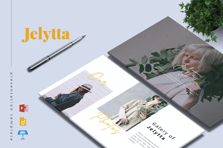 Thumbnail for JELYTTA - Creative Powerpoint/Google Slide/Keynote