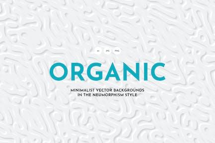 Fondos de líneas orgánicas