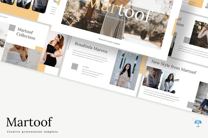 Cover Image For Martoof - Keynote Template