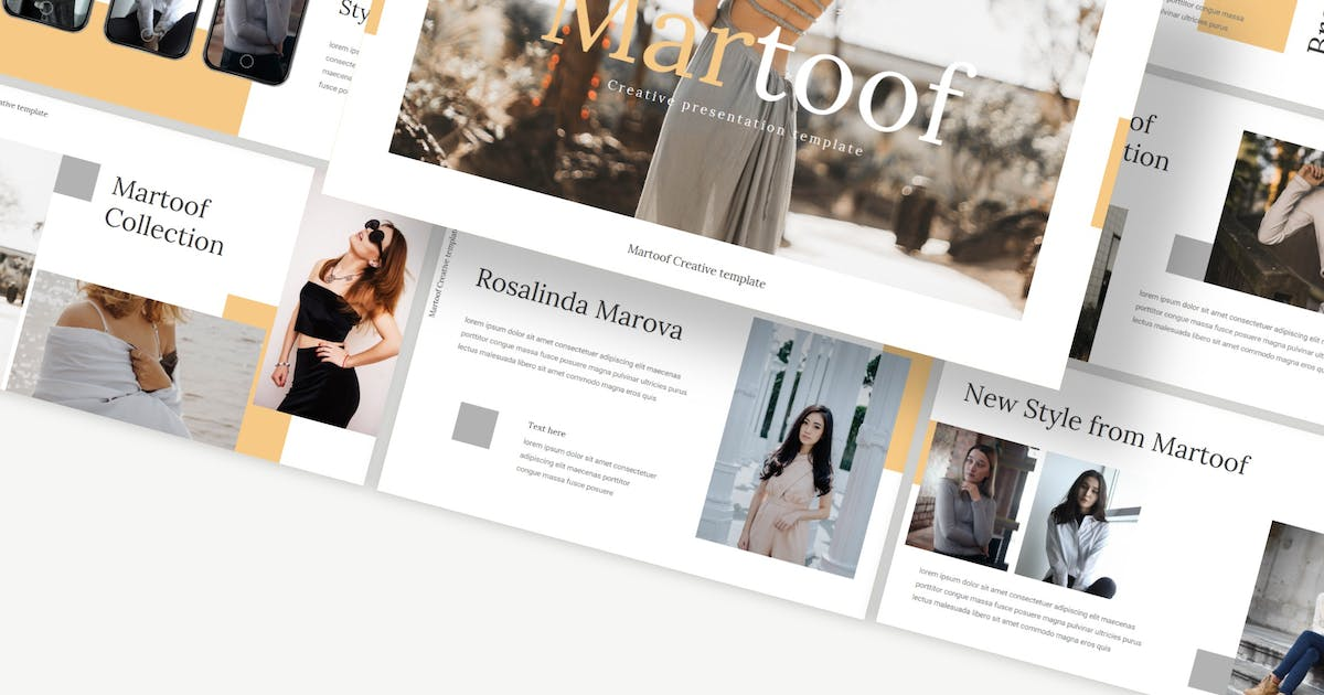 Download Martoof - Keynote Template by Macademia