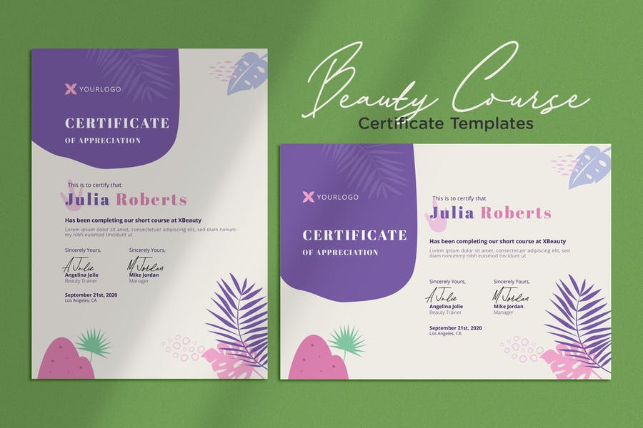 Certificate Vol.01 Beauty, Makeup, Cosmetic Course