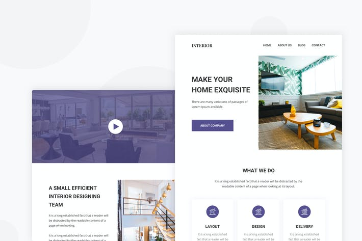 Thumbnail for Interior Design - Email Newsletter