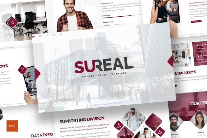 Thumbnail for Sureal - Business Powerpoint Template