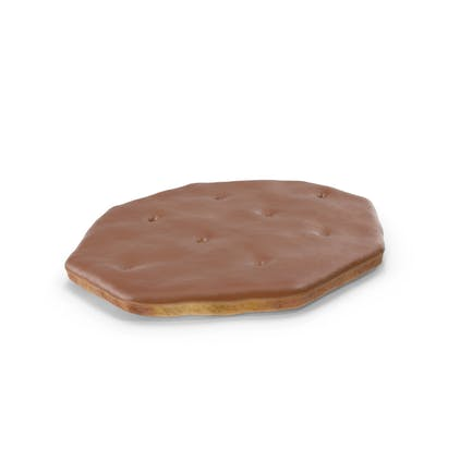 Chocolate Covered Octagon Cracker