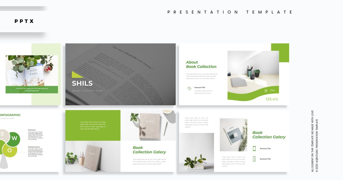Download Shills - Presentation Template by aqrstudio