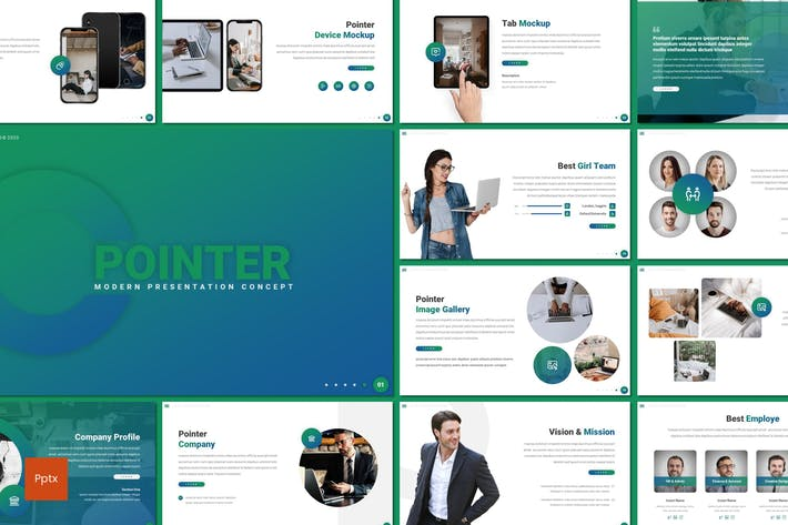 Pointer - Modern Powerpoint Template