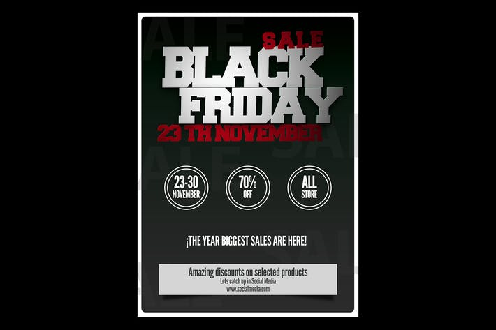 Thumbnail for Black Friday Flyer Poster