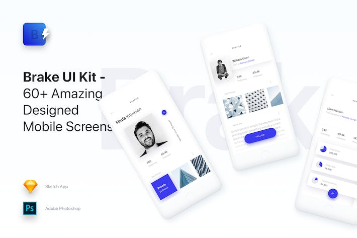 Thumbnail for Brake UI Kit