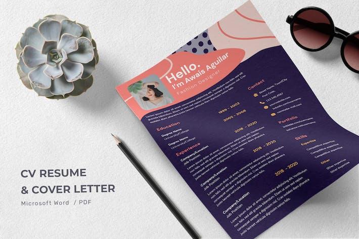 Thumbnail for Fahmida Mcdowell - CV Resume Template