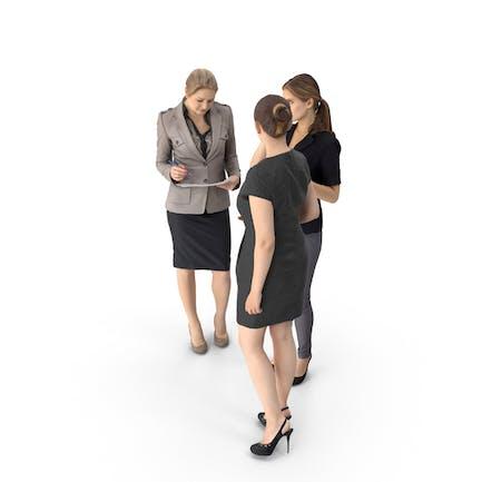 Встреча деловых женщин