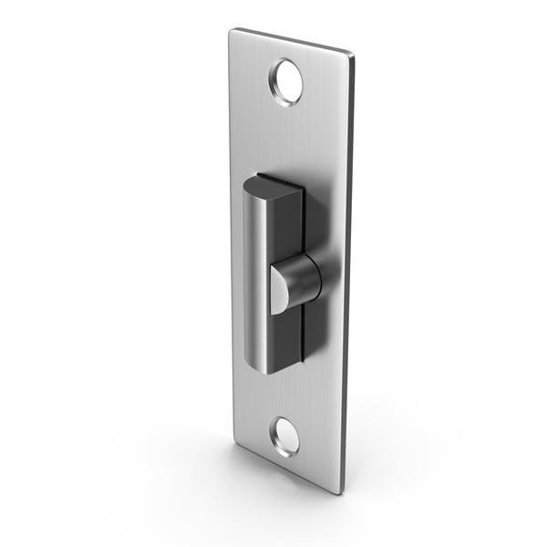 Дверной замок с запирающейся