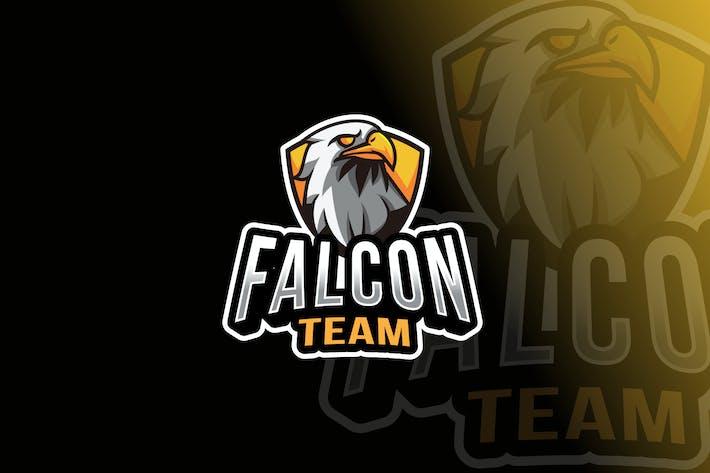 Thumbnail for Falcon Team Logo Template