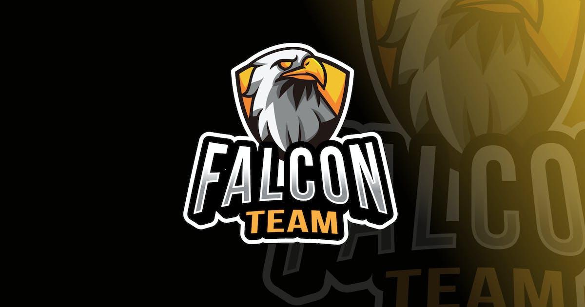 Download Falcon Team Logo Template by IanMikraz