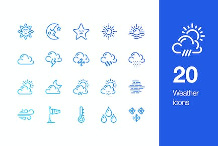 20 WetterIcons