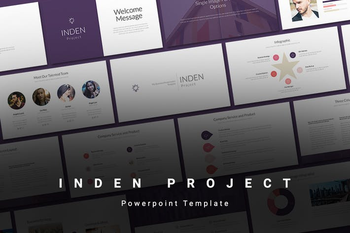 INDEN - Powerpoint Template