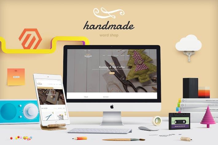 Thumbnail for Handmade - Multipurpose Magento Theme