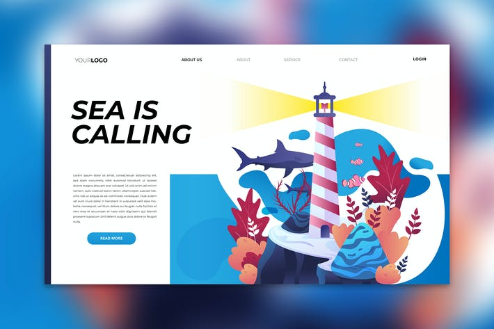 Thumbnail for Sea Is Calling Landing Page