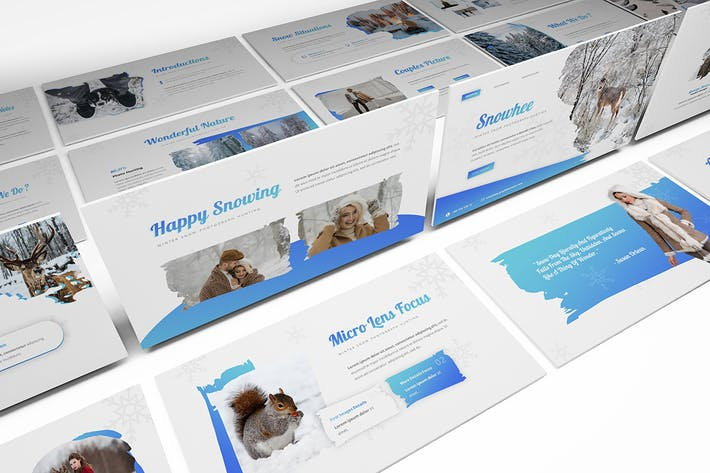 Thumbnail for Snowhee Powerpoint Template