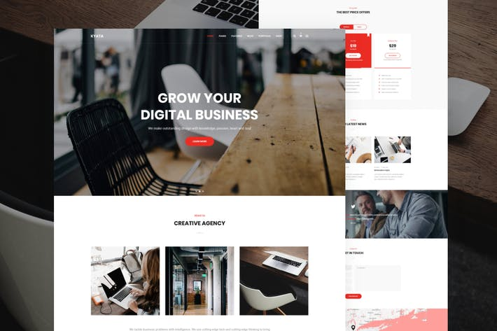 Thumbnail for Kyata | Multipurpose HTML5 Template