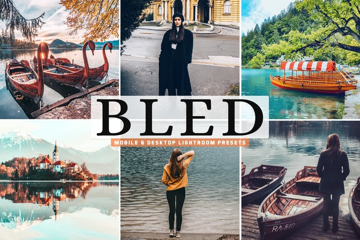 Thumbnail for Bled Mobile & Desktop Lightroom Presets