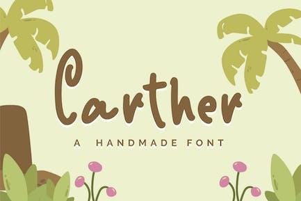 Carther - Una fuente hecha a mano