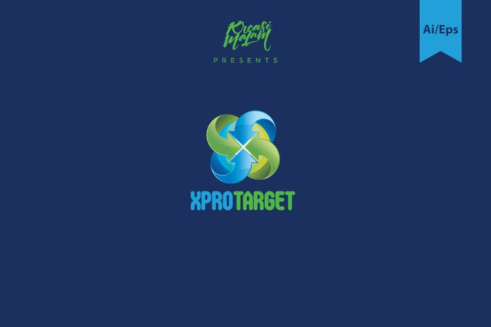 Thumbnail for X ProTarget Logo Template